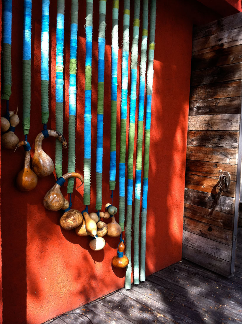Found Fridays: hanging gourds