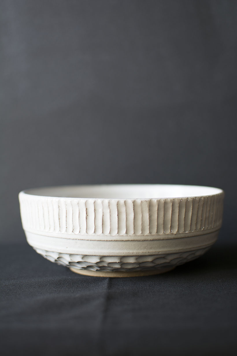 Grey Sky, White Bowl