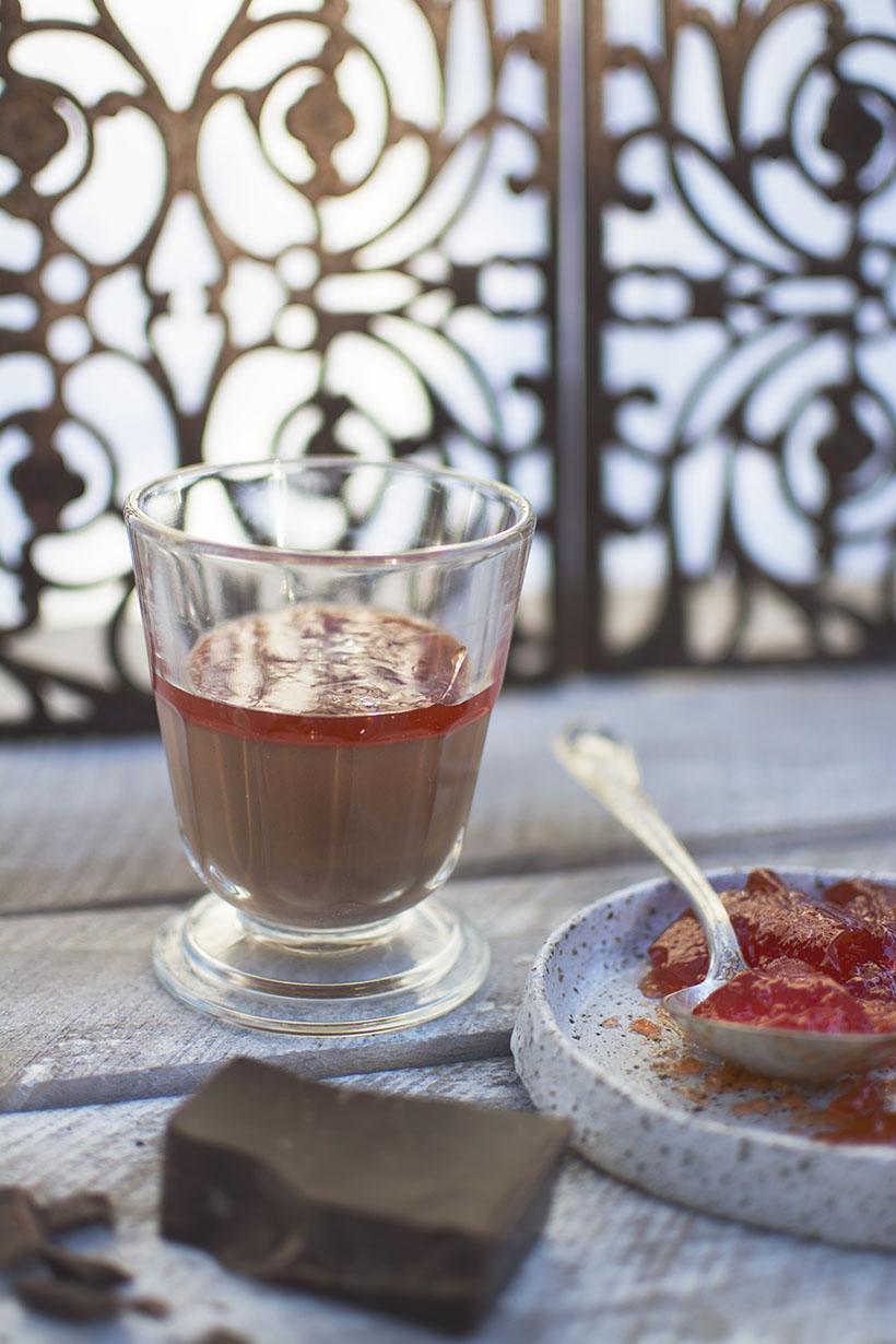 Espelete Chocolate Glass