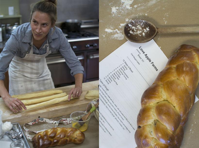 Love Apple Farms breadmaking