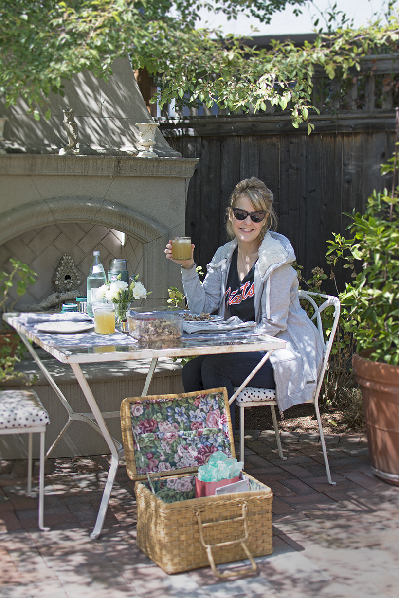 Cathy in the Garden