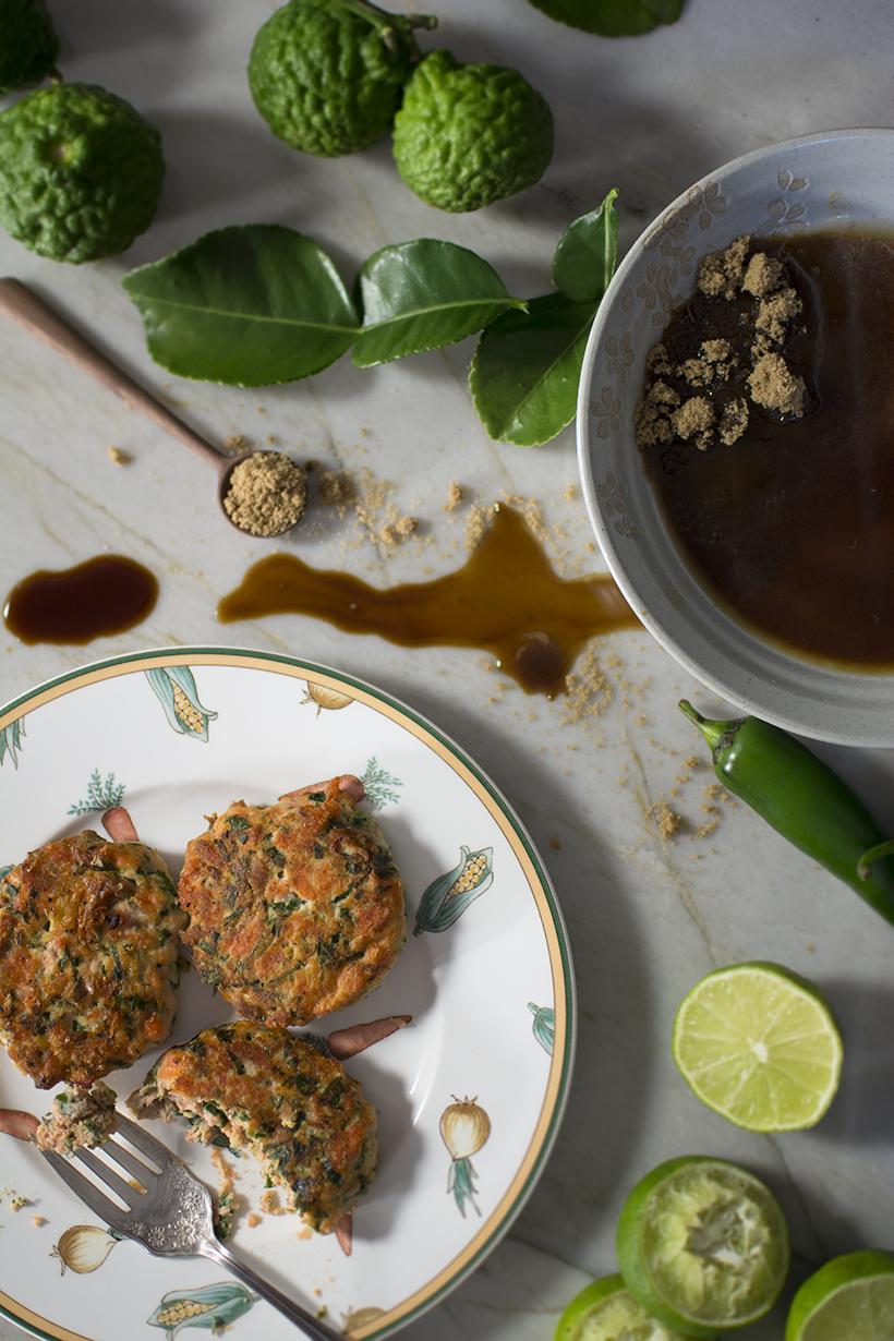 Kaffir Lime Fish Cakes