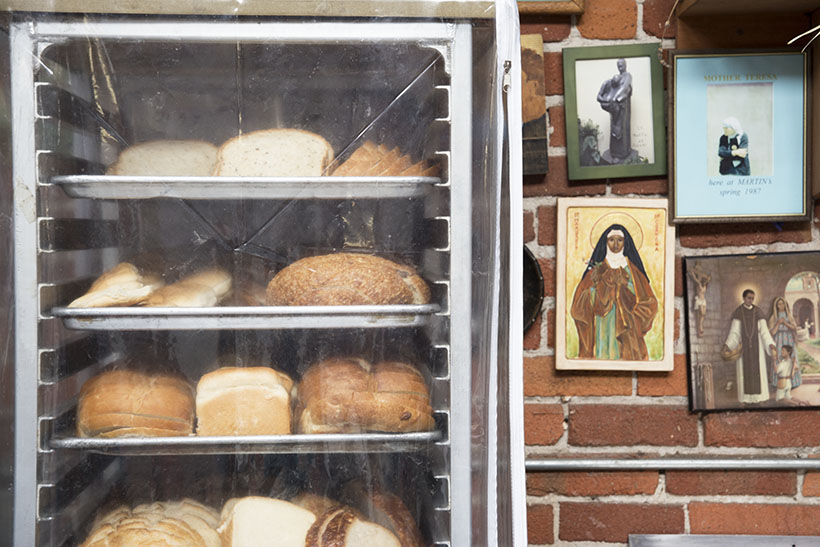 Bread & Mother Teresa